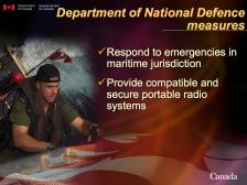 Multimedia presentation for Cabinet